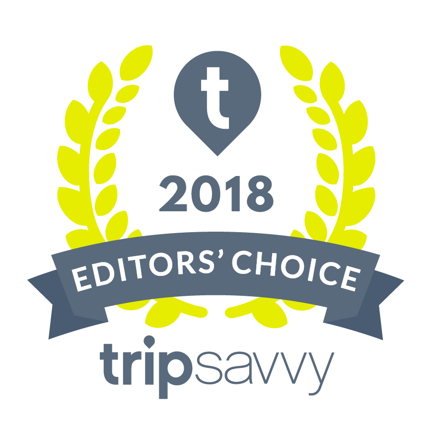 TripSavvy 2018 award - Bridge of Glass